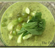 Green Mint Tea Gazpacho