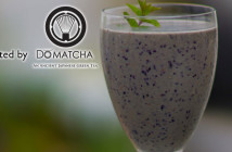 DoMatcha Berry Protein Smoothie