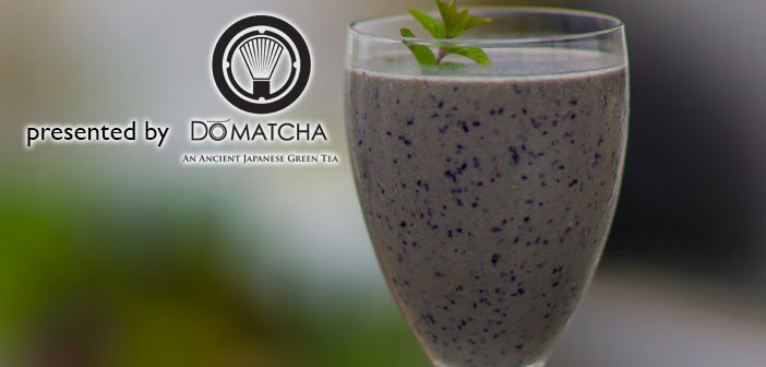 Matcha Berry Protein Smoothie
