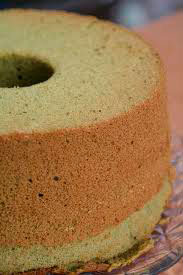 Gluten Free Matcha Angel Food Cake