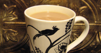 Raspberry Tea Latte